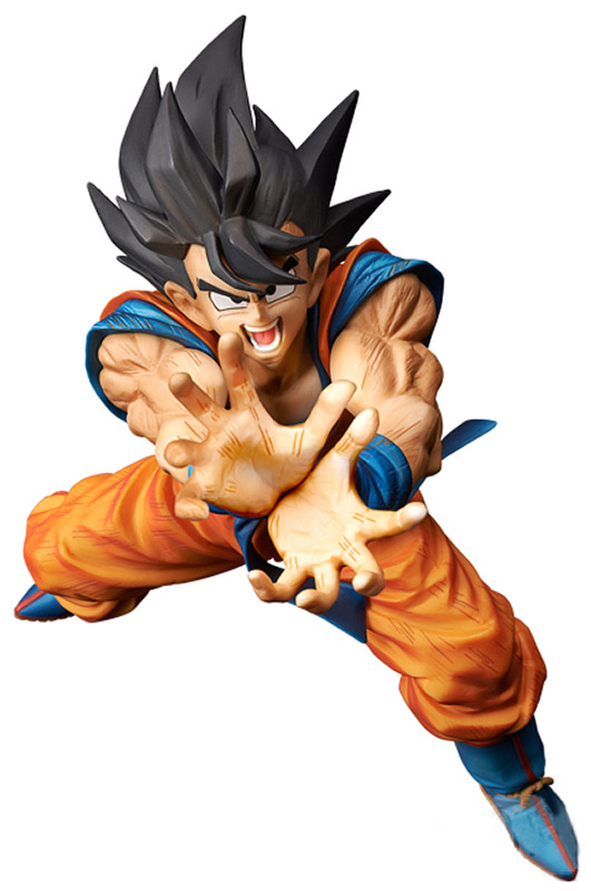 Фигурка Dragon Ball Z Son Goku Super Kamehameha (20 см) 100% original banpresto big zoukei tenkaichi budoukai 3 vol 4 collection figure son goku from dragon ball