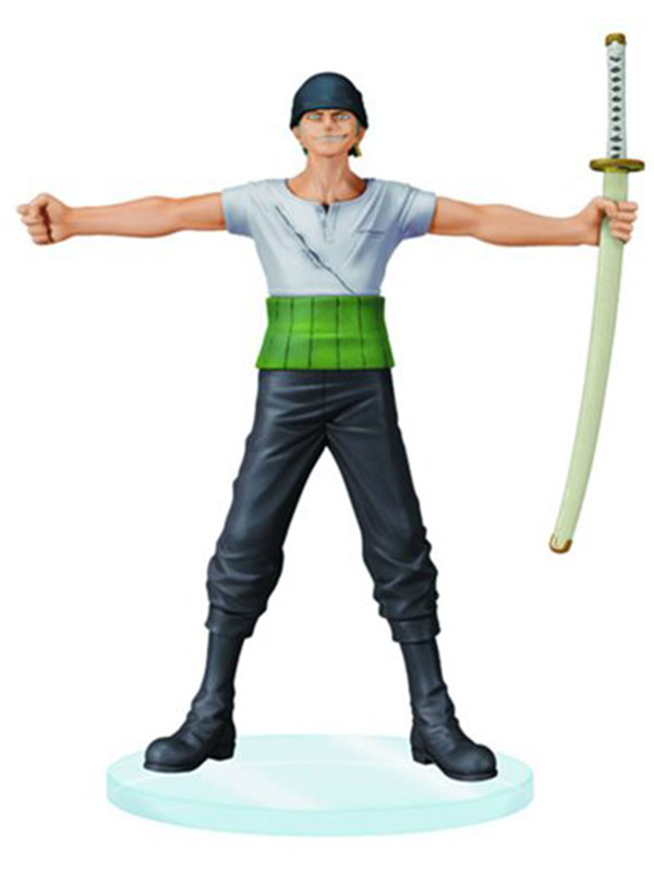 Фигурка One Piece Roronoa Zoro Dramatic Showcase (16 см) one piece zoro 1 8 scale painted figure fighting ver roronoa zoro doll pvc action figures collectible model toys 19cm kt3359