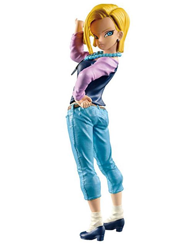 Фигурка Dragon Ball Z Big Budoukai Android C-18 (17 см)Персонаж аниме Dragon Ball, Android 18.<br>