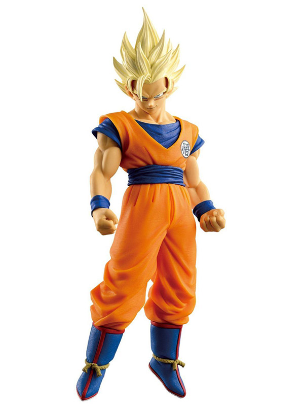 Фигурка Dragon Ball Z Big Budoukai Super Saiyan 2 Goku (17 см) shf s h figuarts dragon ball z son gokou super saiyan the son goku pvc action figure collectible model anime toys doll 16cm
