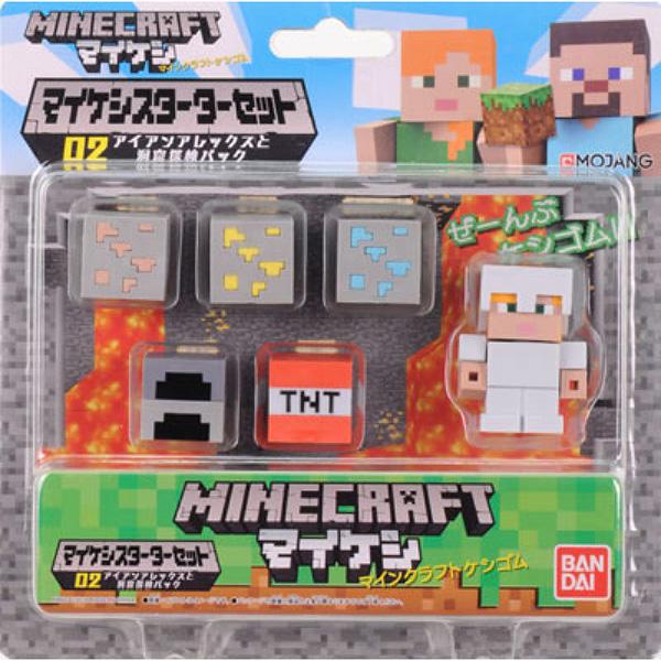 Фигурка Minecraft Starter Set Survival Pack With Alex Figure (4,1 см) фигурка minecraft adventure alex 10 см