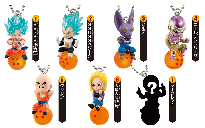 Фигурка Dragon Ball Strap 2 New Qd Mascot (4,5 см) (1 шт. в ассортименте) 160mm japanese original anime figure dragon ball buruma action figure collectible model toys for boys