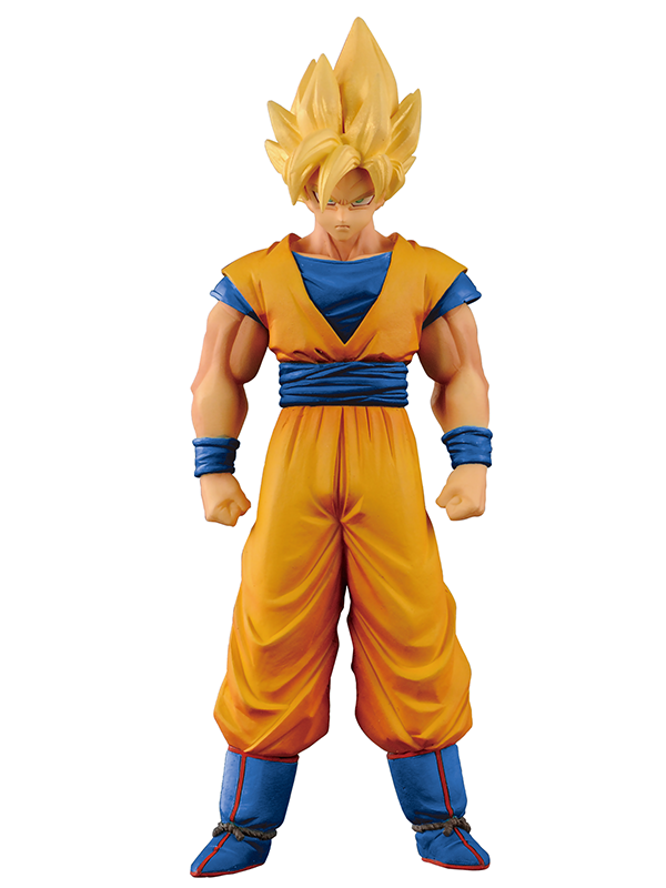 Фигурка Dragon Ball Z DXF Chozousyu Super Saiyan God Son Goku (15 см)
