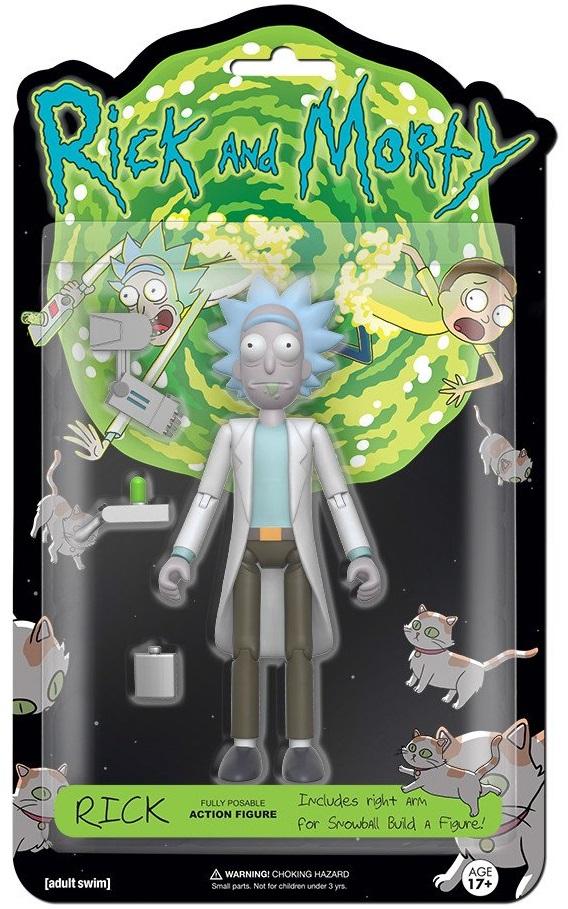 Фигурка Rick &amp; Morty: Rick (13 см)Фигурка Rick &amp;amp; Morty: Rick создана по мотивам американского анимационного сериала «Рик и Морти», созданного Джастином Ройландом и Дэном Хармоном.<br>