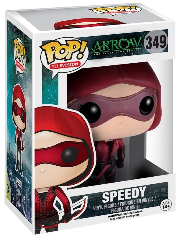 Фигурка Funko POP Television Arrow: Speedy (9,5 см) фигурка teen titans go night begins to shine funko pop television cyborg 9 5 см