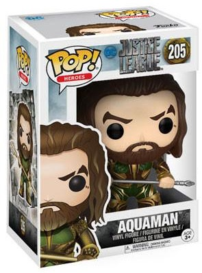 Фигурка Funko POP Heroes Justice League: Aquaman (9,5 см) aquaman volume 5 sea of storms