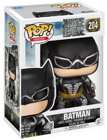 Фигурка Funko POP Heroes Justice League: Batman (9,5 см)Фигурка Funko POP Heroes Justice League: Batman создана по мотивам комикса издательства DC Comics и воплощает собой Бэтмена.<br>