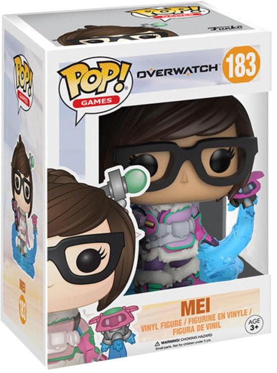 Фигурка Funko POP Games Overwatch: Mei (9,5 см)