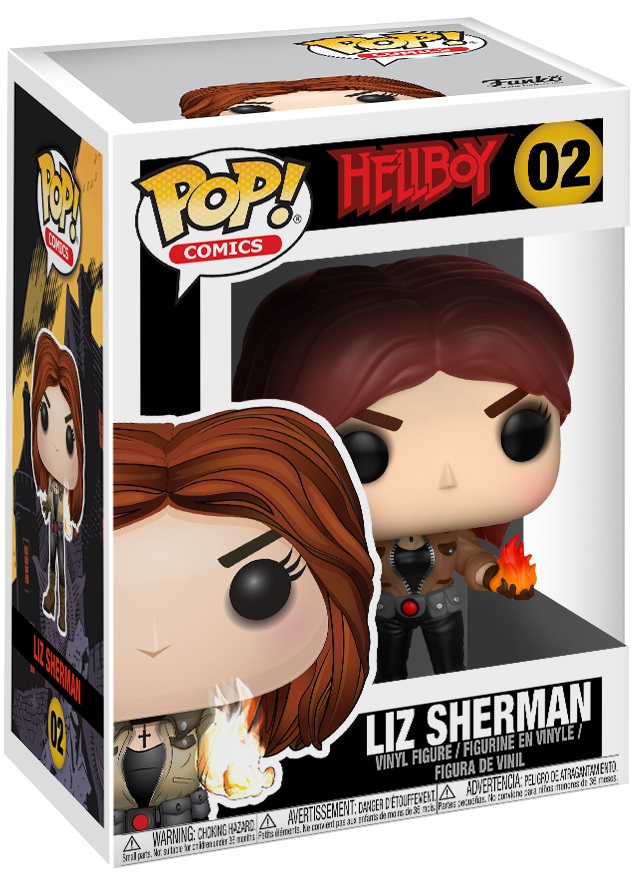 Фигурка Funko POP Comics Hellboy: Liz Sherman (9,5 см) hellboy the art of hellboy