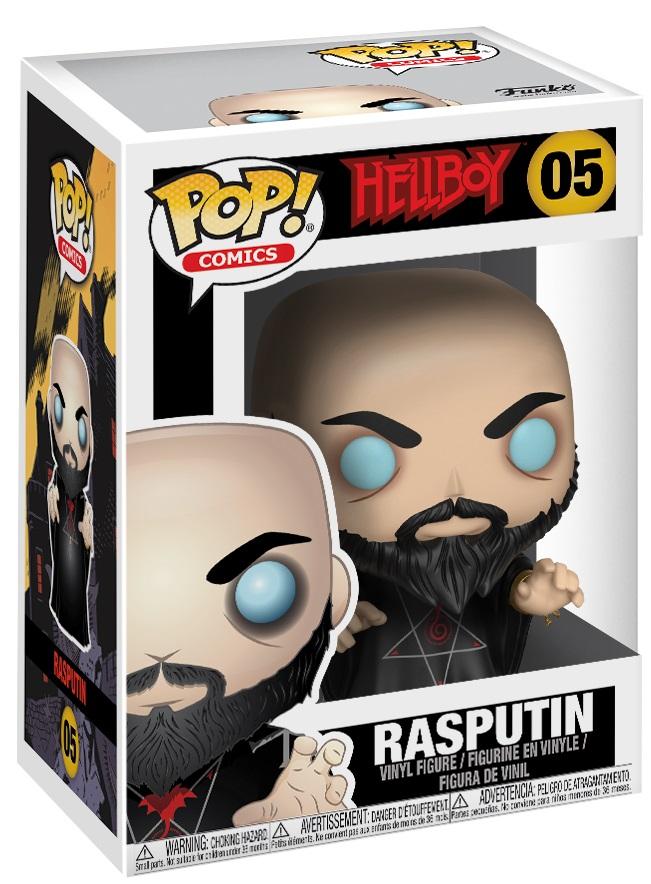 Фигурка Funko POP Comics Hellboy: Rasputin (9,5 см)Фигурка Funko POP Comics Hellboy: Rasputin создана по мотивам комиксов издательства Dark Horse Comics о супергерое Хеллбое.<br>