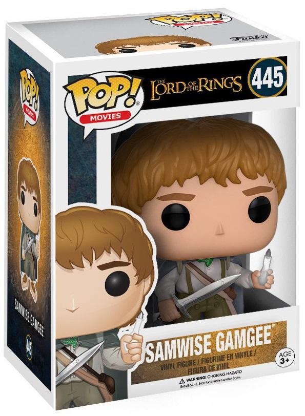 Фигурка Funko POP Movies Lord Of The Rings: Samwise Gamgee (9,5 см) фигурка funko pop movies space jam swackhammer