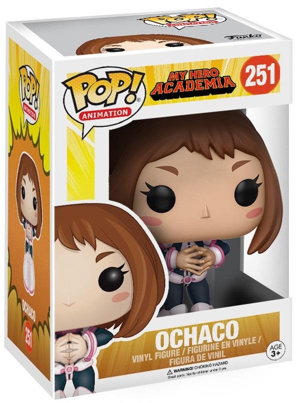 Фигурка Funko POP Animation My Hero Academia: Ochaco (9,5 см)Фигурка Funko POP Animation My Hero Academia: Ochaco создана по мотивам аниме, основанного на манге «Моя геройская академия» Кохэема Хорикоси.<br>