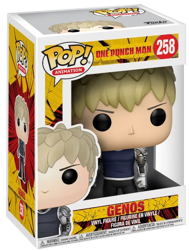 Фигурка Funko POP Animation One Punch Man: Genos (9,5 см) фигурка funko pop animation one piece portgas d ace 9 5 см
