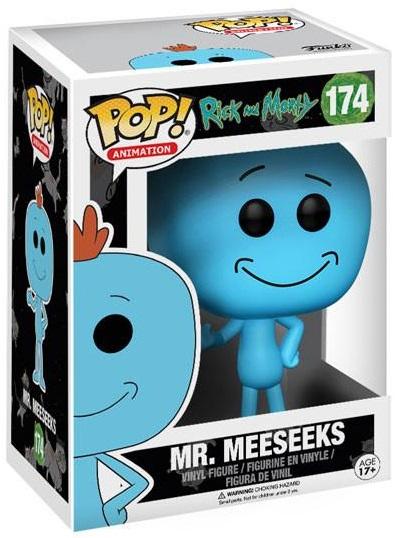 Фигурка Funko POP Animation Rick &amp; Morty: Mr. Meeseeks (9,5 см)Фигурка Funko POP Animation Rick &amp;amp; Morty: Mr. Meeseeks создана по мотивам американского анимационного сериала «Рик и Морти», созданного Джастином Ройландом и Дэном Хармоном.<br>