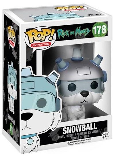 Фигурка Funko POP Animation Rick &amp; Morty: Snowball (9,5 см)Фигурка Funko POP Animation Rick &amp;amp; Morty: Snowball создана по мотивам американского анимационного сериала «Рик и Морти», созданного Джастином Ройландом и Дэном Хармоном.<br>