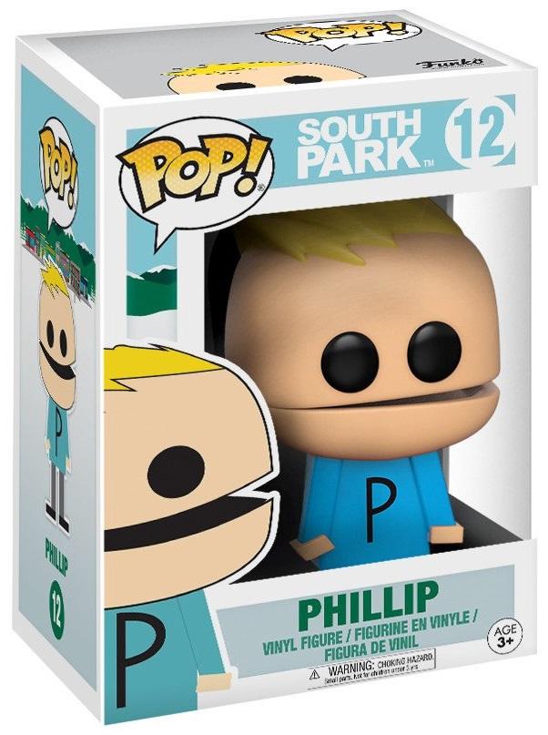 Фигурка Funko POP South Park: Phillip (9,5 см)Фигурка South Park: Phillip создана по мотивам американского мультсериала «Южный парк» и воплощает собой одного из персонажей.<br>