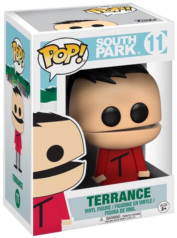 Фигурка Funko POP South Park: Terrance (9,5 см)Фигурка South Park: Terrance создана по мотивам американского мультсериала «Южный парк» и воплощает собой одного из персонажей.<br>