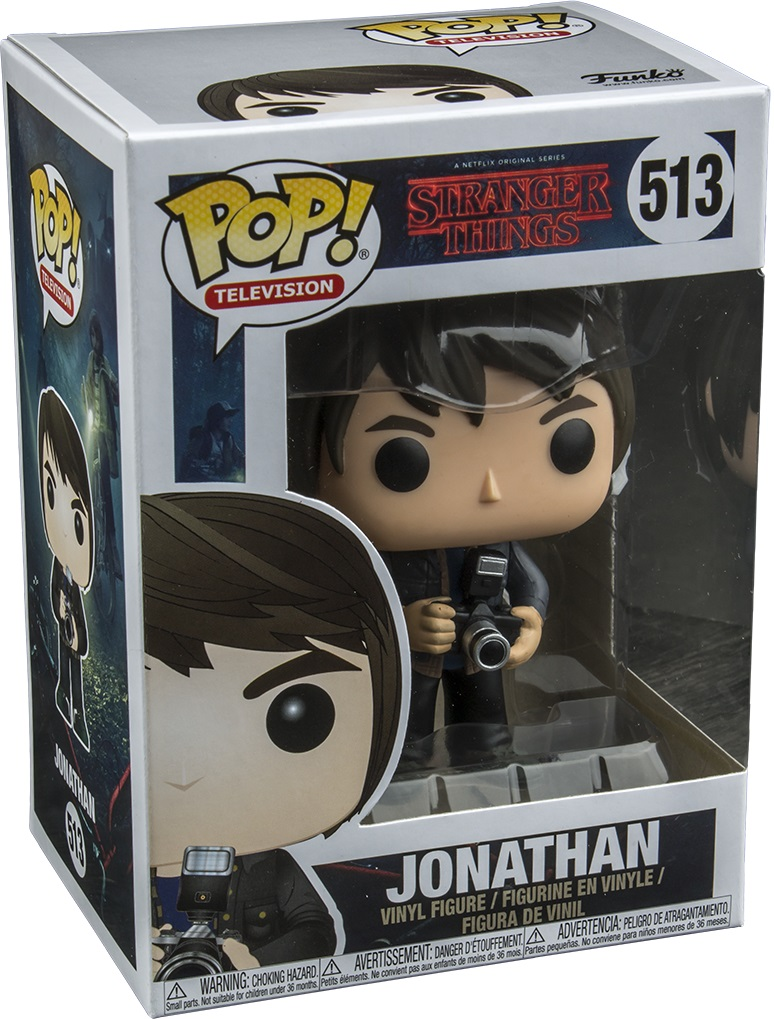 Фигурка Funko POP Television Stranger Things: Jonathan With Camera (9,5 см) фигурка funko pop television stranger things eleven hospital gown 9 5 см