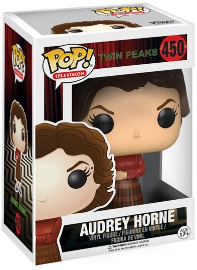 Фигурка Funko POP Television Twin Peaks: Audrey Horne (9,5 см) фигурка funko pop television twin peaks the log lady 9 5 см