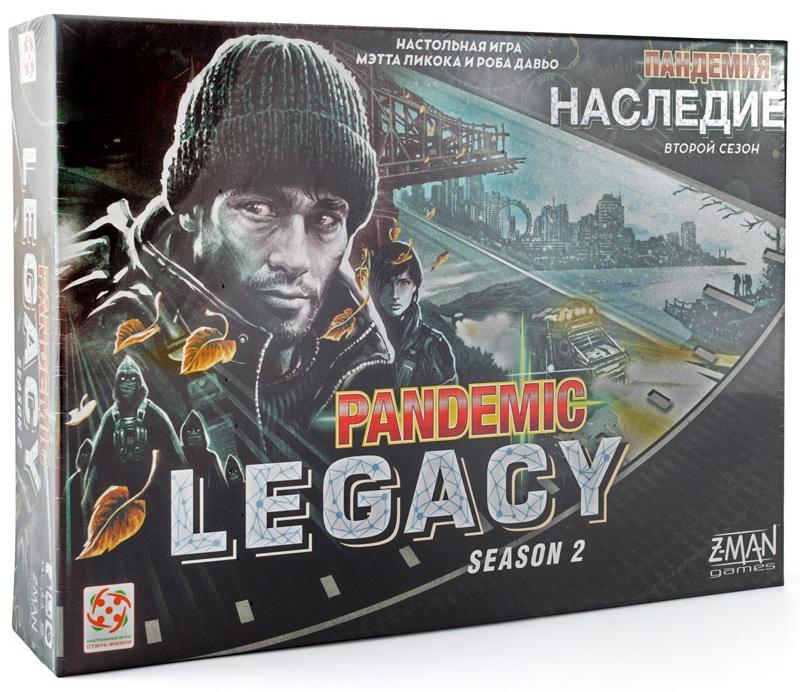 Настольная игра Пандемия: Наследие 2 (черная) настольная игра стиль жизни доббль ут000001805