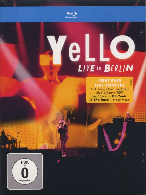 Yello – Live In Berlin (Blu-ray) c lin tdk0302 temperature and humidity control with sensor intelligent ac220v