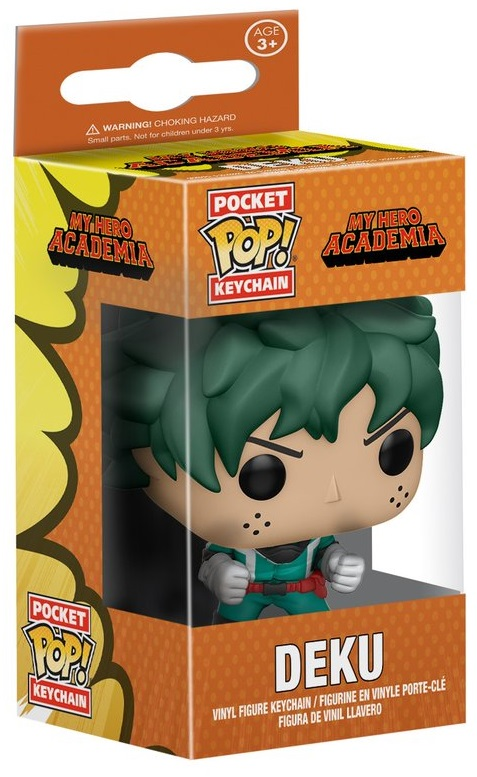 Брелок Funko POP My Hero Academia: Deku фигурка funko pop animation my hero academia ochaco 9 5 см