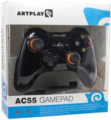 Беспроводной геймпад Artplays AC55 для PC / AndroidБеспроводной геймпад Artplays AC55 &amp;ndash; геймпад со съемным держателем для смартфона.<br>