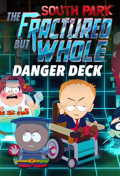 South Park: The Fractured but Whole: Голодек страха. Дополнение [PC, Цифровая версия] (Цифровая версия)В полном вызовов и испытаний дополнении South Park: The Fractured but Whole: Голодек страха вы окажетесь в неизведанных ранее уголках Южного парка и сразитесь с врагами в схватках, организованных самим Контейнером.<br>