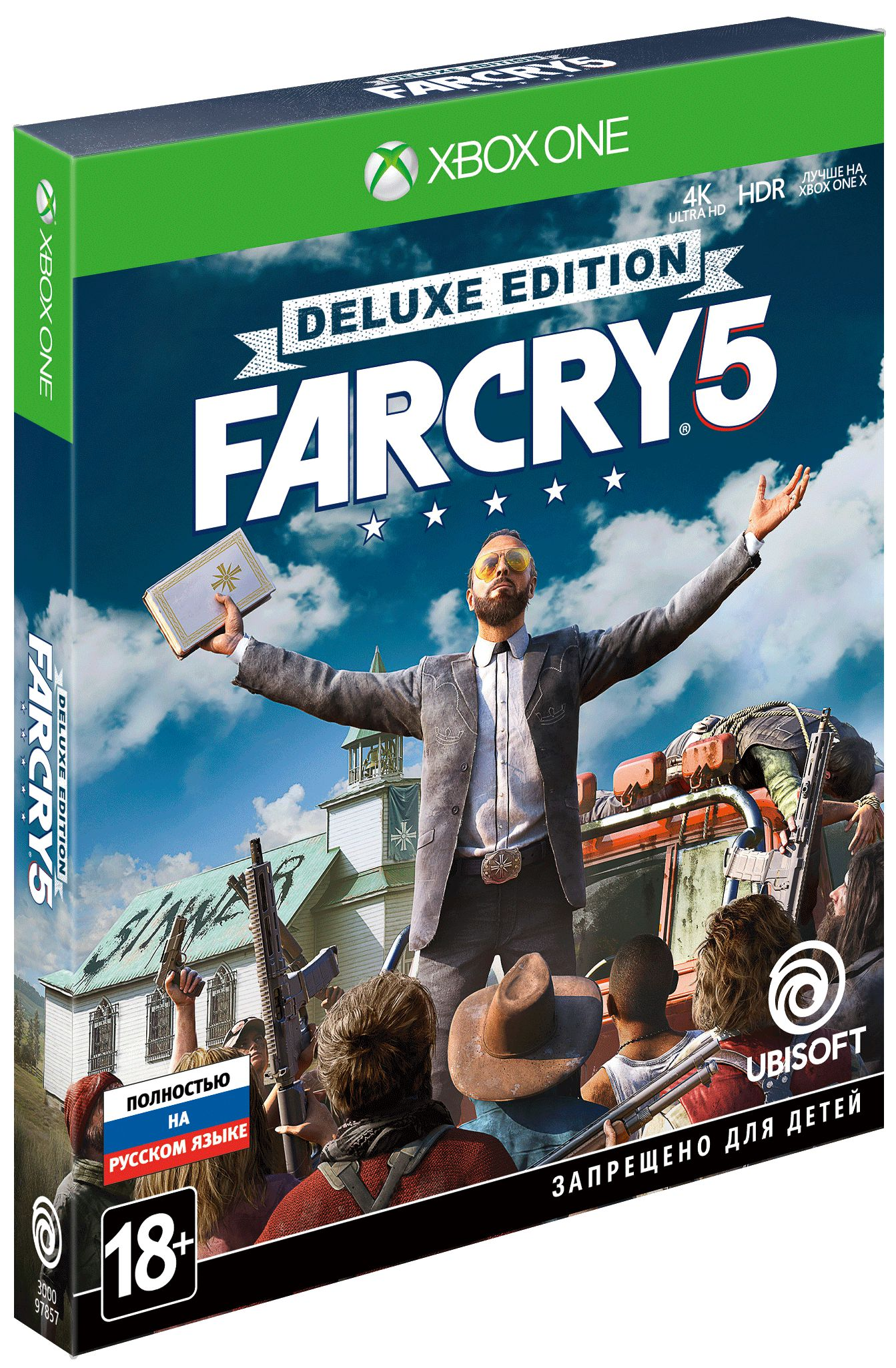 Far Cry 5. Deluxe Edition [Xbox One]Закажите игру Far Cry 5. Deluxe Edition до 17:00 часов 23 марта 2018 года и получите в подарок набор «Выживальщик».<br>