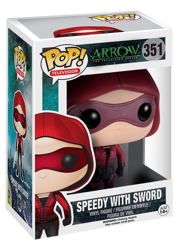 Фигурка Funko POP Television Arrow: Speedy With Sword (9,5 см)Фигурка Funko POP Television Arrow: Speedy With Sword создана по мотивам американского приключенческого телесериала, основанного на комиксах о супергерое DC Comics Зелёная стрела.<br>