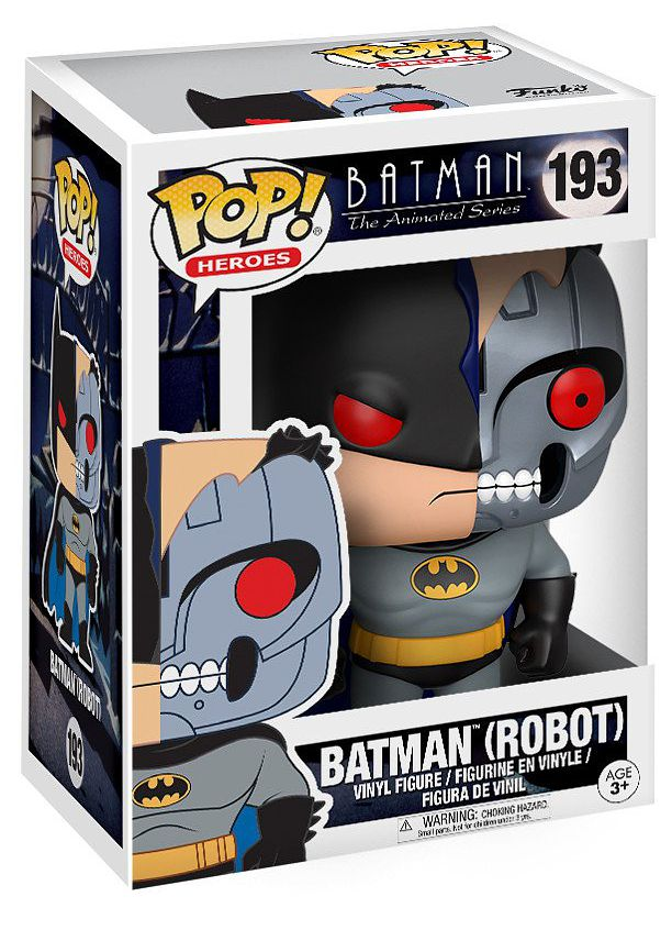 Фигурка Funko POP Heroes Batman The Animated Series: Batman Robot (9,5 см) настенный светильник idlamp 406 1a whitechrome