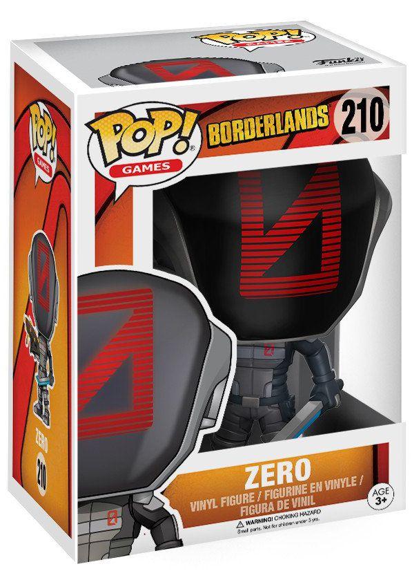 Фигурка Funko POP Games Borderlands: Zero (9,5 см) фигурка funko pop television stranger things hopper 9 5 см