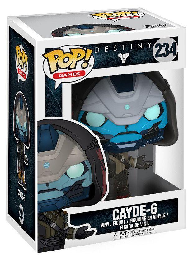 Фигурка Funko POP Games Destiny: Cayde-6 (9,5 см) фигурка funko pop games destiny ikora 9 5 см