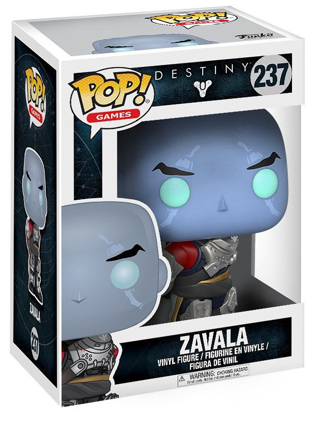 Фигурка Funko POP Games Destiny: Zavala (9,5 см)