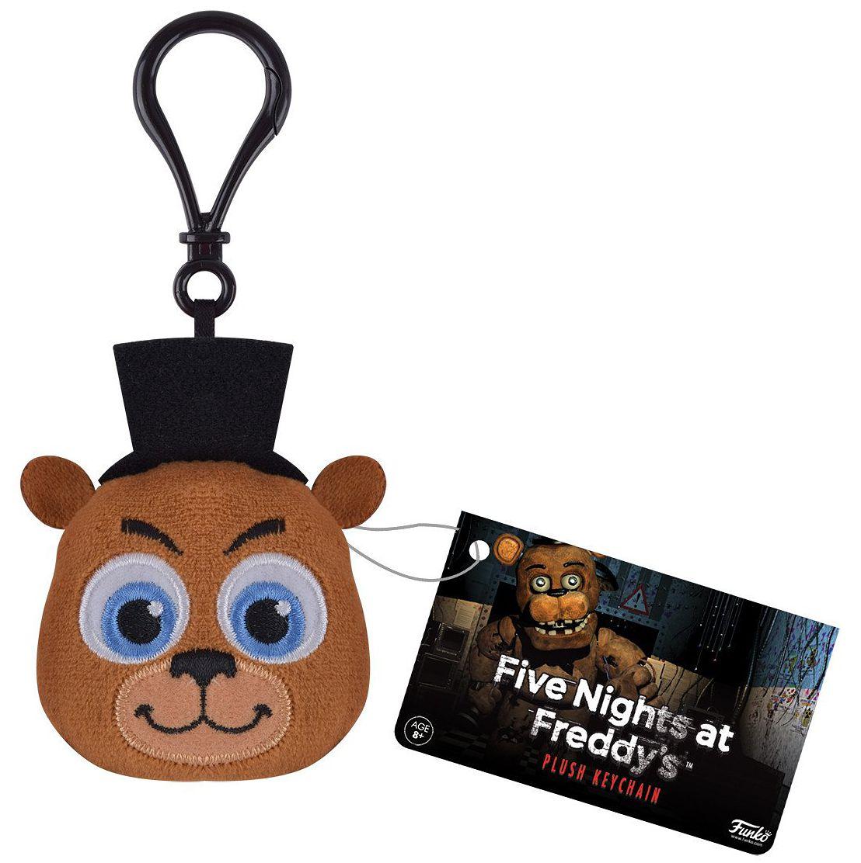 Брелок плюшевый Five Nights At Freddys: FreddyБрелок плюшевый Five Nights At Freddys: Freddy создан по мотивам одной из самых известных серий видеоигр в жанре point and click и horror от разработчика Скотта Коутона.<br>