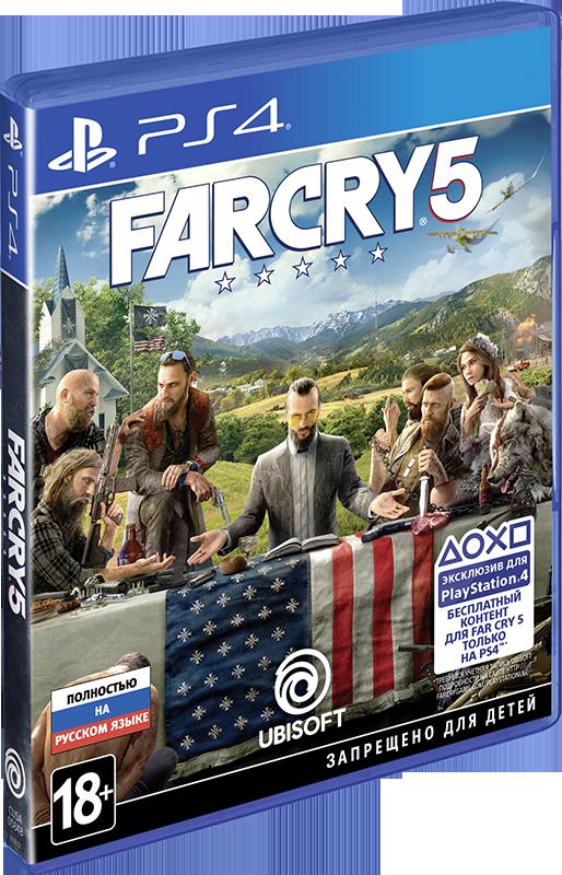 Far Cry 5 [PS4] ubisoft far cry 4 специальное издание русская версия
