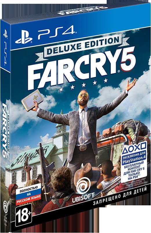 Far Cry 5. Deluxe Edition [PS4] элтон джон elton john goodbye yellow brick road deluxe edition 2 cd