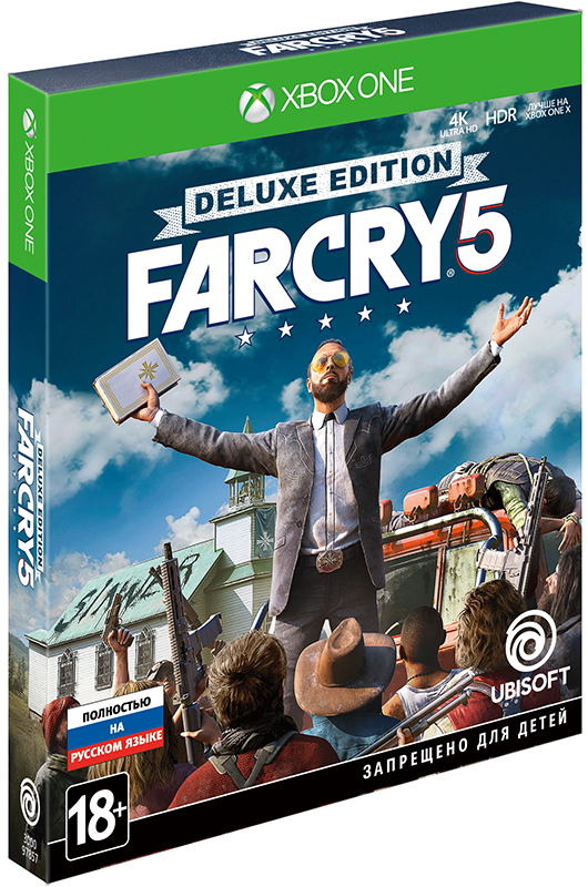 Far Cry 5. Deluxe Edition [Xbox One] игра для xbox far cry 3 far cry 4