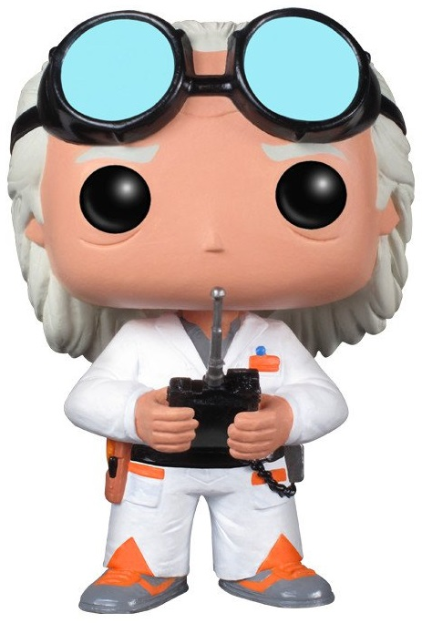 Фигурка Back To The Future Funko POP Movies: Dr. Emmet Brown (9,5 см) рубашка в клетку insight back to zero midnight oil