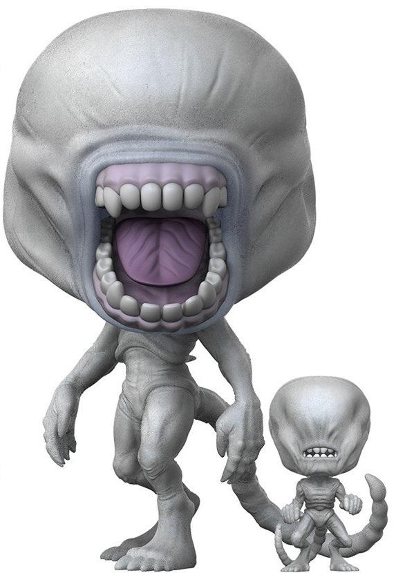 Фигурка Alien Funko POP Movies: Neomorph With Toddler (9,5 см) фигурка funko pop movies space jam swackhammer