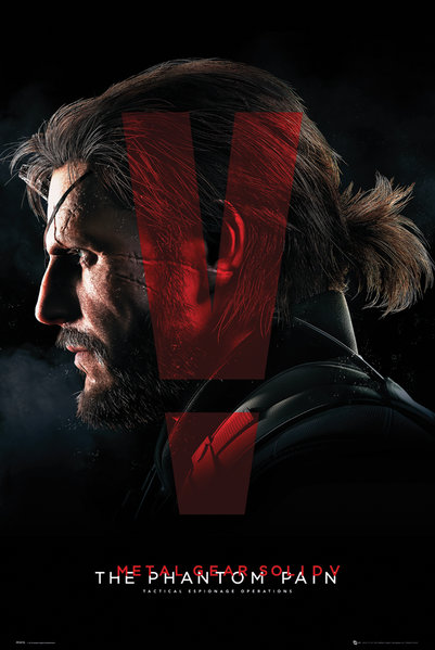 Плакат Metal Gear Solid VПлакат Metal Gear Solid V создан по мотивам компьютерной игры компьютерной игры с открытым миром, действие которой происходит в 1984 году.<br>