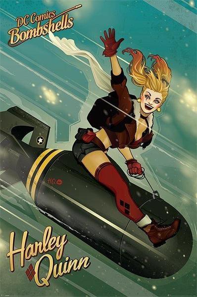 Плакат DC Comics Bombshells: Harley Quinn плакат a3 29 7x42 printio harley quinn