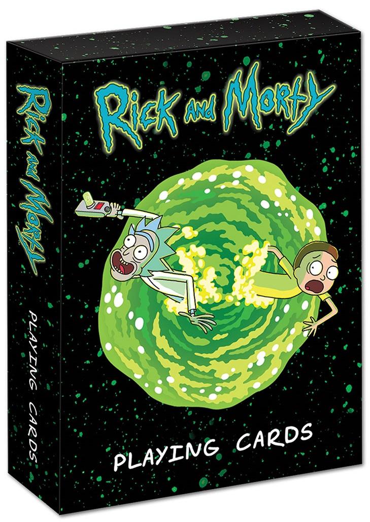 Карты игральные Rick And Morty сумка printio рик и морти  rick and morty