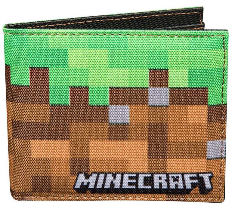 Кошелек Minecraft: Dirt Block Bi-Fold поиск семена томат желтая шапочка 5 шт