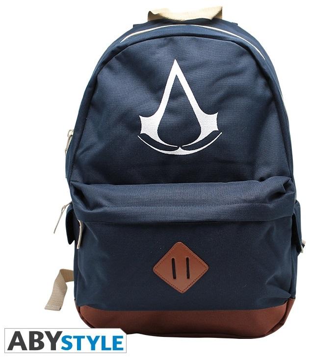 Рюкзак Assassins Creed: CrestРюкзак Assassins Creed: Crest синего цвета создан по мотивам игры Assassins Creed. Станет отличным подарком для поклонников компьютерных игр.<br>