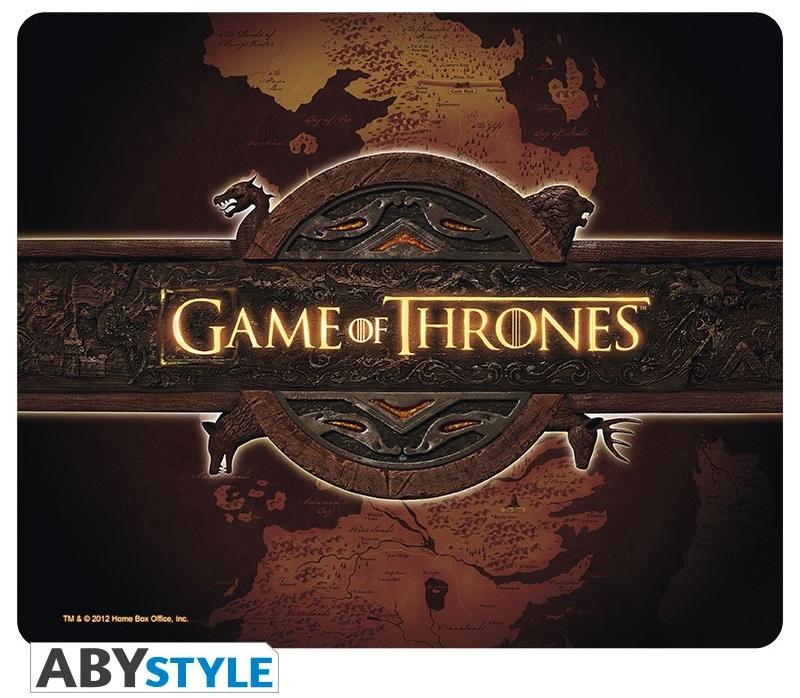 Коврик для мыши Game Of Thrones: Logo &amp; CardКоврик для мыши Game Of Thrones: Logo &amp;amp; Card создан по мотивам американского драматического телесериала, основанного на цикле романов «Песнь Льда и Огня» Джорджа Р. Р. Мартина.<br>