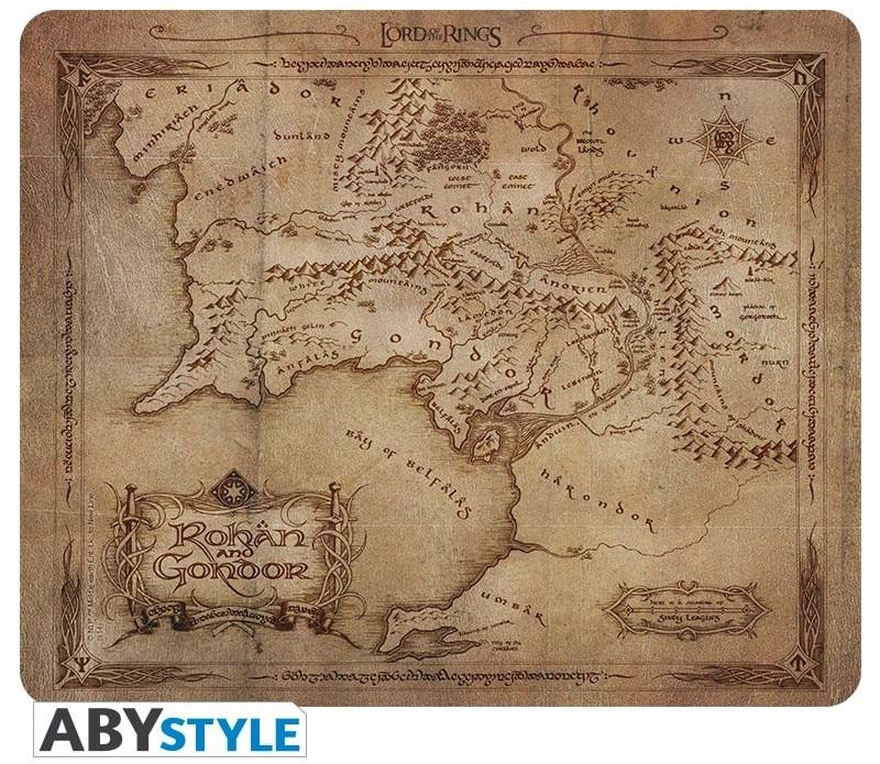 Коврик для мыши Lord Of The Rings: Rohan &amp; Gondor MapКоврик для мыши Lord Of The Rings: Rohan &amp;amp; Gondor Map создан по мотивам экранизации романа Дж.Р.Р. Толкина «Властелин колец» режиссёра Питера Джексона.<br>