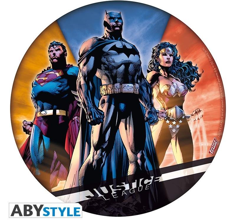 Коврик для мыши Justice LeagueКоврик для мыши Justice League создан по мотивам комикса вселенной DC «Лига справедливости».<br>