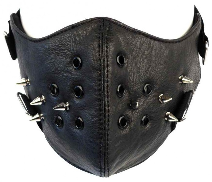 Маска Geek Mask With Spikes mueller mueller wonder wrap 7 6cm