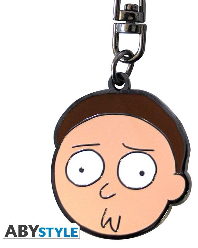 Брелок Rick And Morty: Morty сумка printio рик и морти  rick and morty